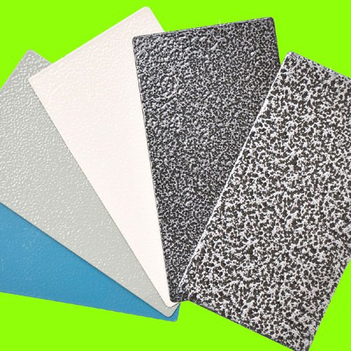 Powdered Coated Aluminium Texture : Powder paint selling tehnostatic link